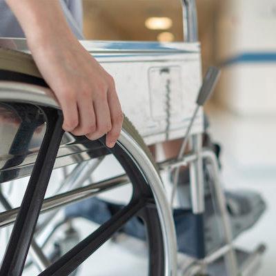 Behinderte Patienten