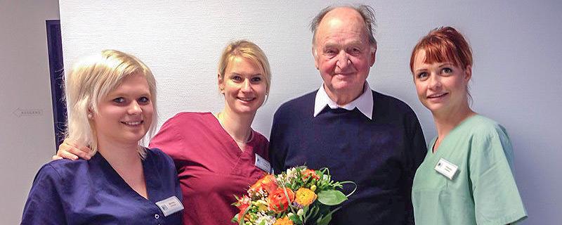 Gratulation für Patient Nr. 35.000 Artikelbild