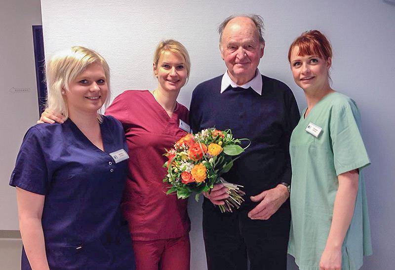 Gratulation für Patient Nr. 35.000