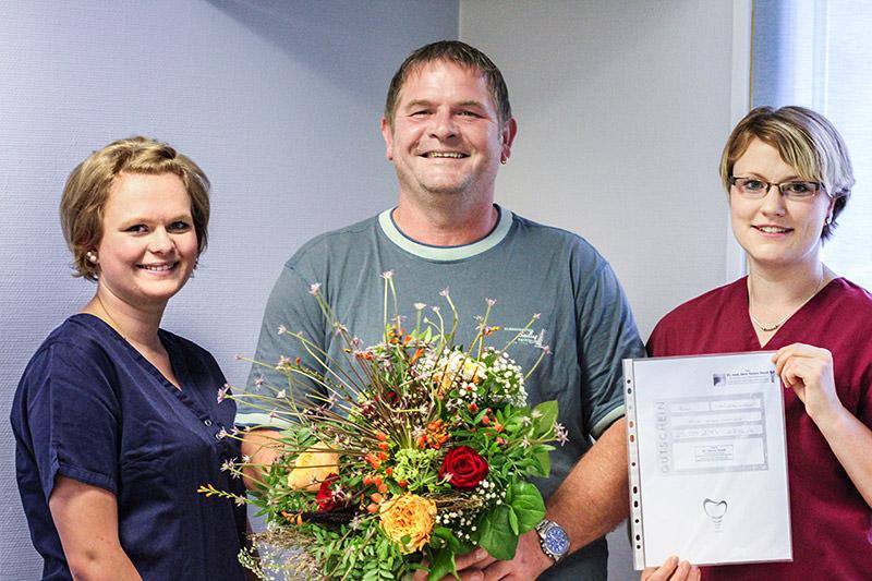 Gratulation für Patient Nr. 40.000