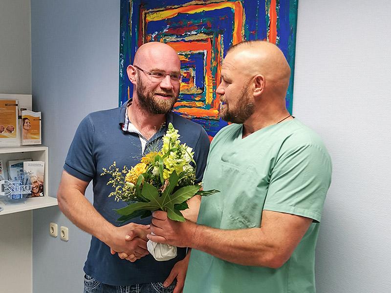 Gratulation für Patient Nr. 45.000